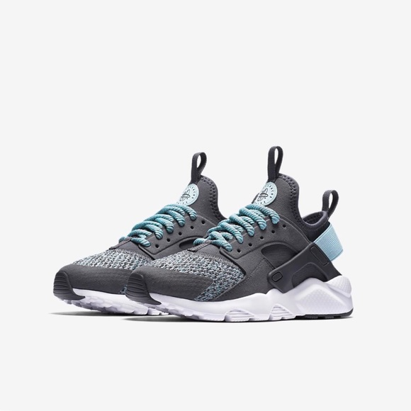 cb959524bcda New Nike Air Huarache Run Ultra SE Grey Blue